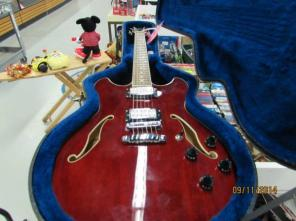 Ibanez Artcore AS73 - Cherry - Electric Guitar